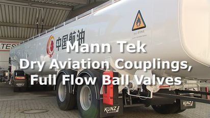 Dry Aviation Couplings DAC and Full Flow Ball Valve FFB