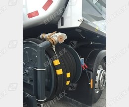 Heating oil delivery: ZH 50 nozzle, HD reel hose